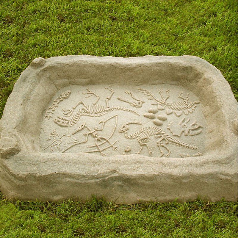 Kidwise Digasaurus Activity Sandbox Dinosaur Excavation Activity by Kidwise