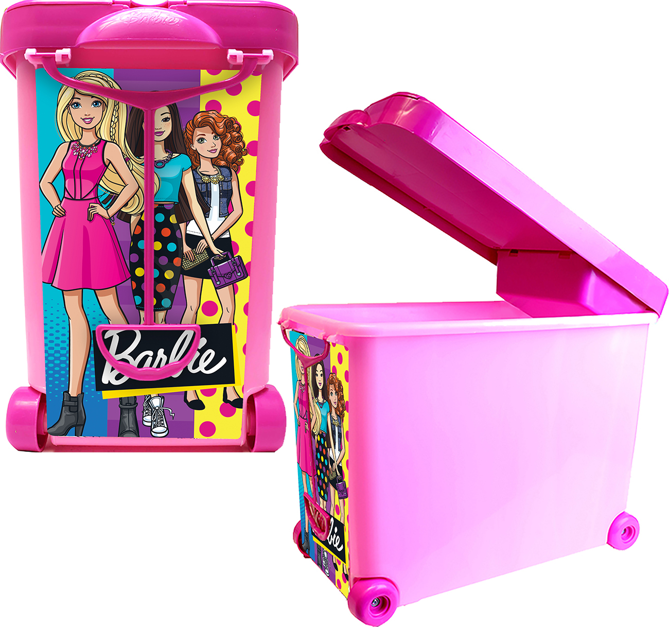 "Barbie ""Store It All!"" Carrying Case by Tara Toys"