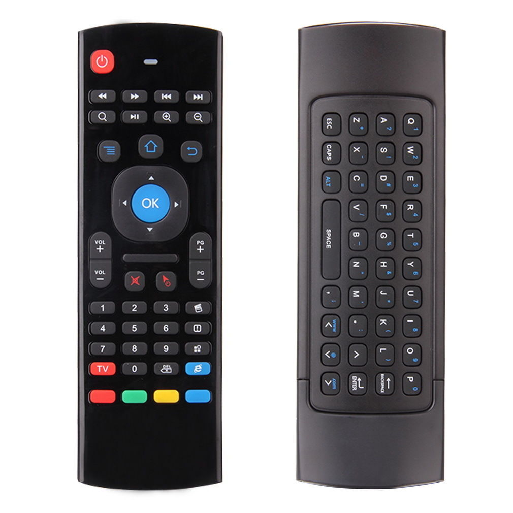 2.4G MX3 Multifunction Air Mouse Fly Mouse Mini Wireless Keyboard Infrared Remote Learning for Google Android TV Box, IPTV Smart TV, HTPC Windows, Mac OS , Lilux PS3 etc