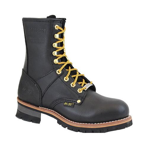 Men's 1428 9 Steel Toe Logger Boot