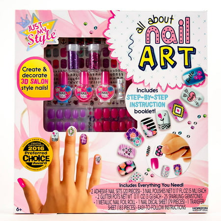 Just My Style All About Nail Art By Horizon Group Usa Walmart