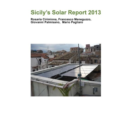 Sicily's Solar Report 2013 - eBook