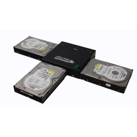 Spartan HDD Mini Compact Portable 1 to 2 SATA Hard Drive Disk Clone Copy Standalone Duplicator (Data/System Files Storage Transfer) (Copy All Data From One Table To Another)