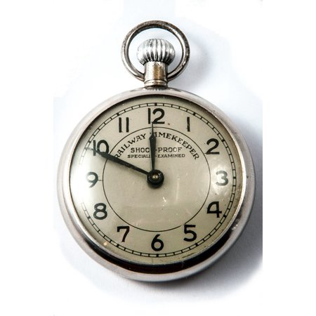 LAMINATED POSTER Time Of Hours Time Timepiece Old Pocket Watch Poster Print 24 x 36