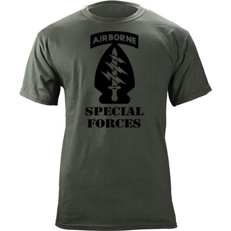 - US Army Special Forces Division Subdued Veteran T-Shirt
