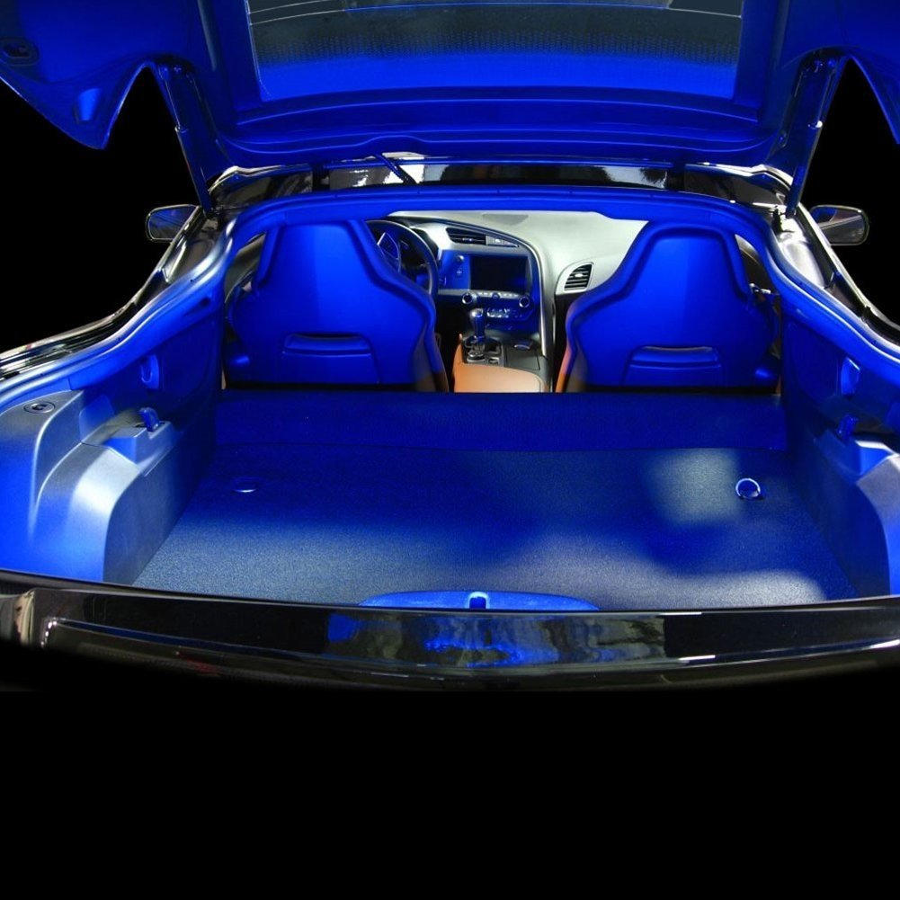 C7 Corvette - Rear Hatch/Trunk LED Strip Kit : Stingray, Z51, Z06 (Blue Super Bright)