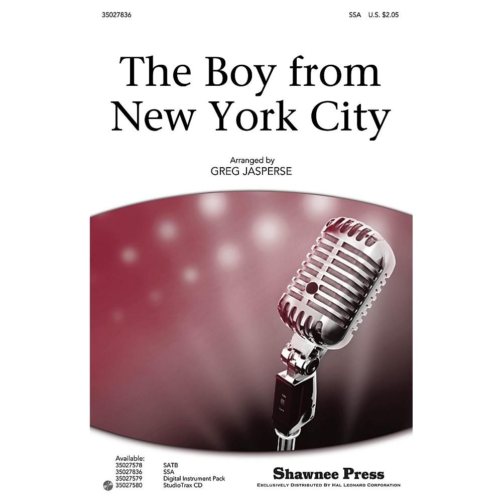 Shawnee Press The Boy from New York City Studiotrax CD by The Manhattan Transfer Arranged by Greg Jasperse