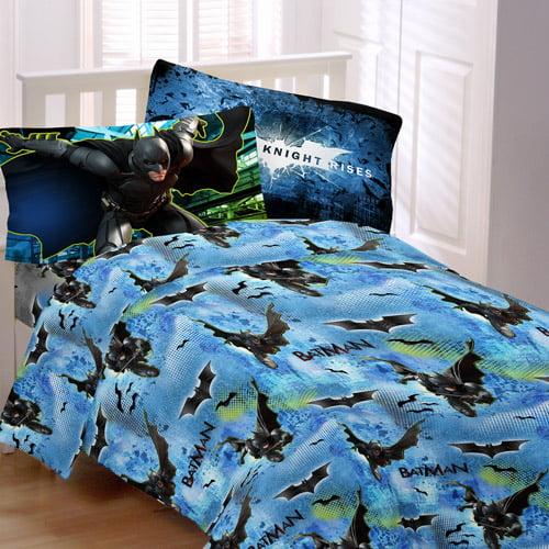 Warner Bros. Batman Forced Darkness Microfiber Bedding Sheet Set