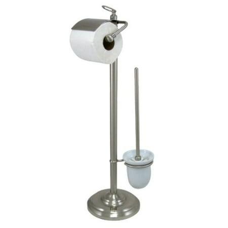 Kingston Brass Cc2018 Free Standing Toilet Paper Holder Satin