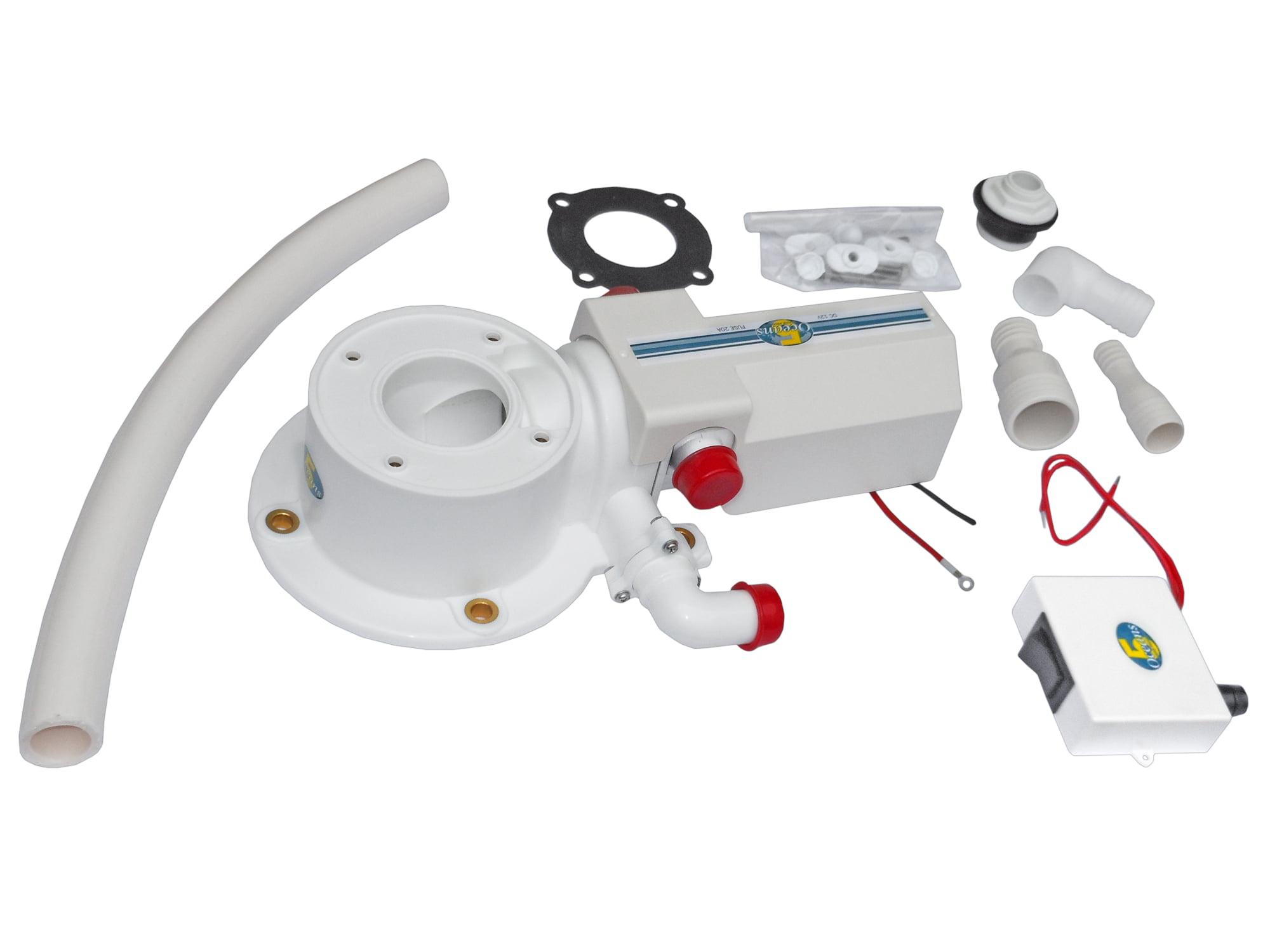 TMC Electric Marine Toilet Conversion Kit BC 728 by
