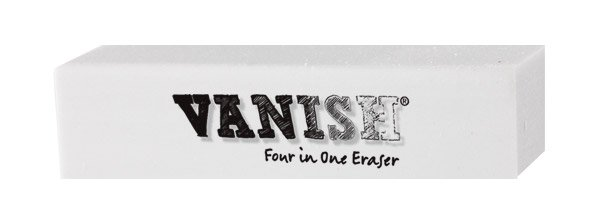 Vanish 4-in-1 Artist Eraser Replaces Gum Rubber Vinyl and Kneaded Erasers Individual by Acurit