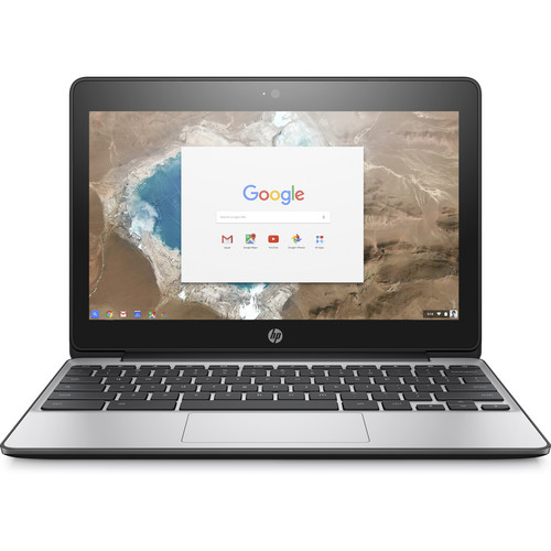 "HP Chromebook 11 G5 11.6"" Chromebook - Intel Celeron N3050 Dual-core (2 Core) 1.60 GHz - 4 GB DDR3L SDRAM RAM - 32 GB Flash Memory Capacity - Intel HD Graphics DDR3L SDRAM - Chrome OS - 1366 x 76"