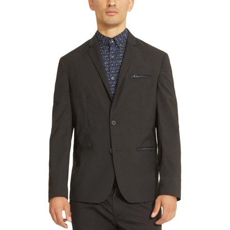 Kenneth Cole Reaction Mens Classic Fit Work Wear Two-Button Suit Jacket Solo 360 Mens Suits