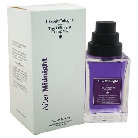 After Midnight by The Different Company for Unisex - 3 oz EDT (Mens Midnight Oil)