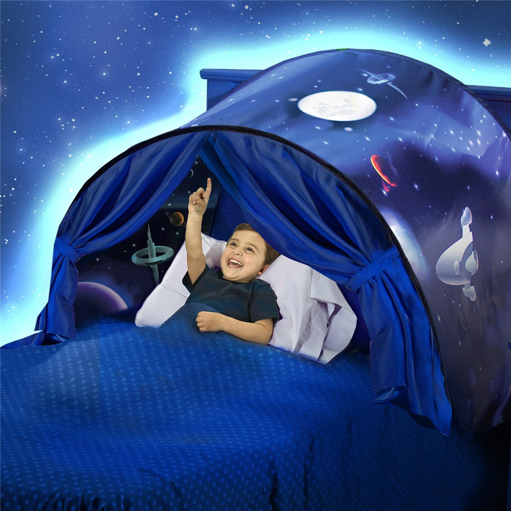 Children Fantasy Dream Tents Winter Wonderland Foldable Sky Tent Camping Outdoor Tent Indoor Bed Nets Christmas Gift for... by