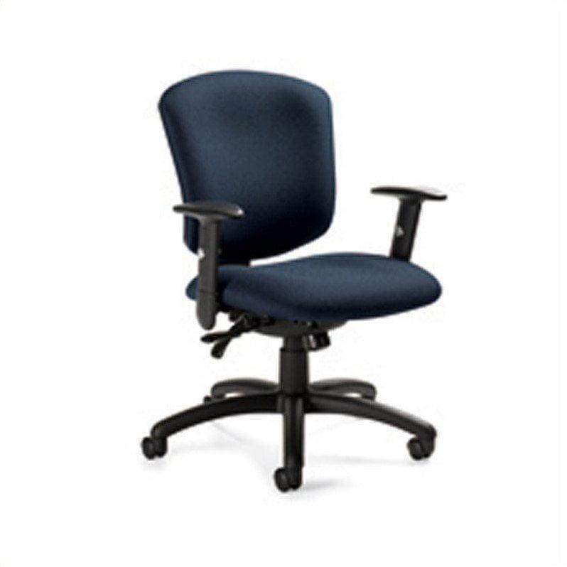 Global Supra X Medium Back Multi Tilter Office Chair in S...