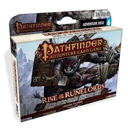 Pathfinder Adventure Card Game: Rise of the Runelords Deck 6 - Spires of Xin-Shalast Adventure