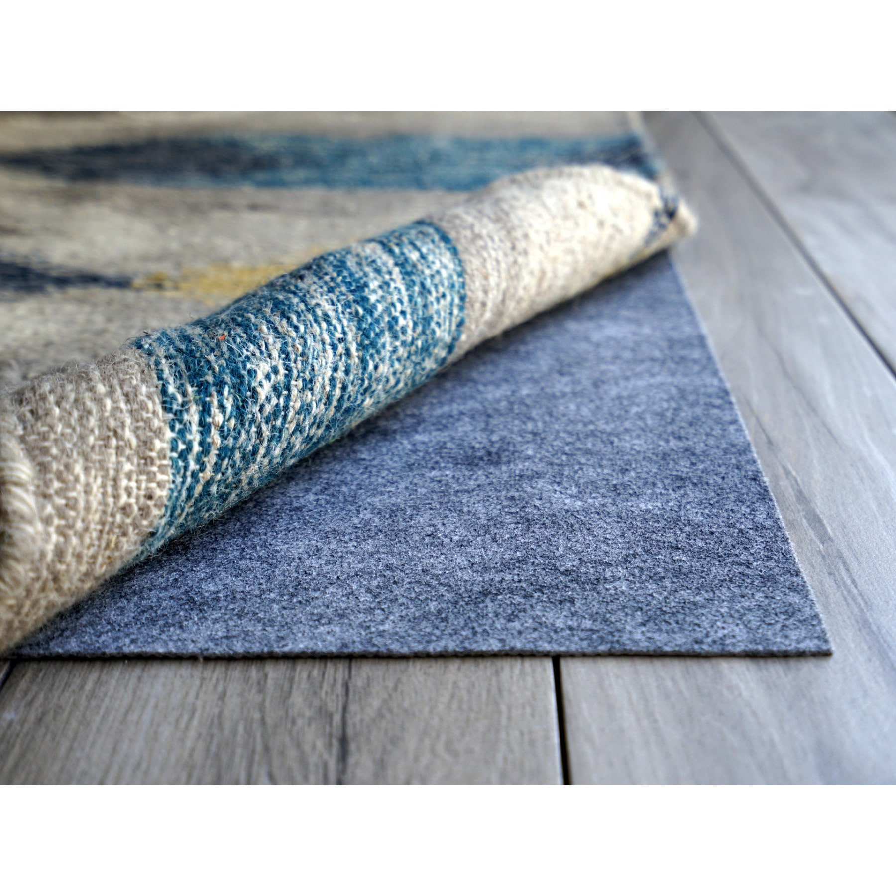 Rug Pad USA AnchorPro Low Profile Non-slip Felt & Rubber Rug Pad (4' x 8') by Overstock