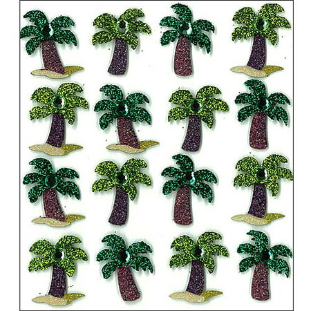 Mini Palm Tree (Jolee's Mini Repeats Stickers, Palm Trees )