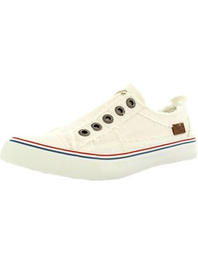 c37d3a4b6531 Product Image Blowfish Women s Play Linen White Ankle-High Fashion Sneaker  - 10M