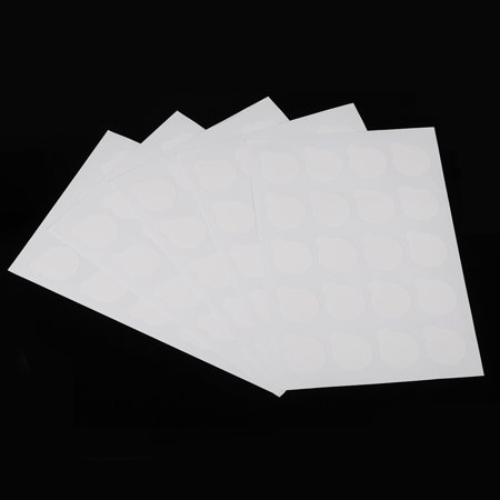 100pcs Disposable Eyelash Glue Holder Pallet Eyelash Extension Glue Pads Stand On Eyelash Glue Patches Sticker Small Size