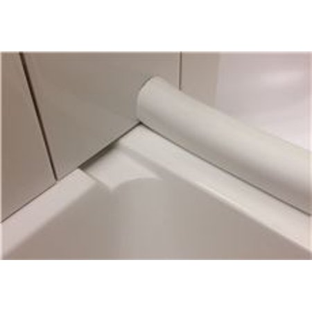 White Barrier Free Barrier (El Mustee Collapsible Water Barrier, White)