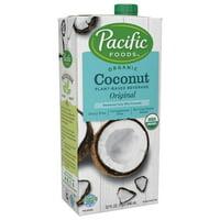 (2 pack) Pacific Foods Organic Coconut Milk Non-Dairy Original Beverage, 32 fl oz