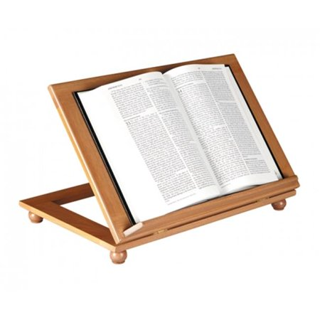 cbcs ws603wal- adjustable bible stand-walnut