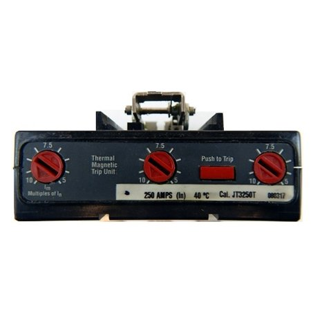 JT3250T MOLDED CASE CIRCUIT BREAKER TRIP UNIT - TYPE JT 3 POLE 600V 250 AMP