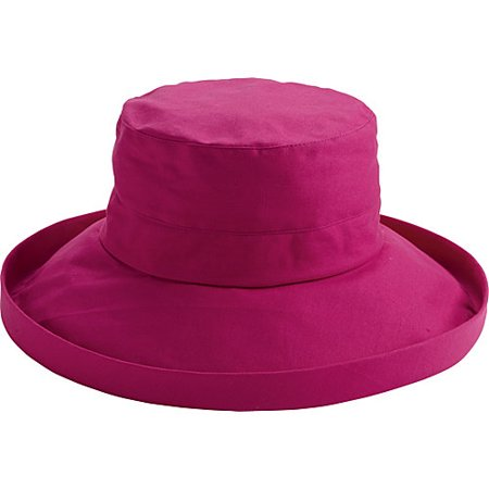 San Diego Hat Company Women's Brim Hat O/S Hot Pink