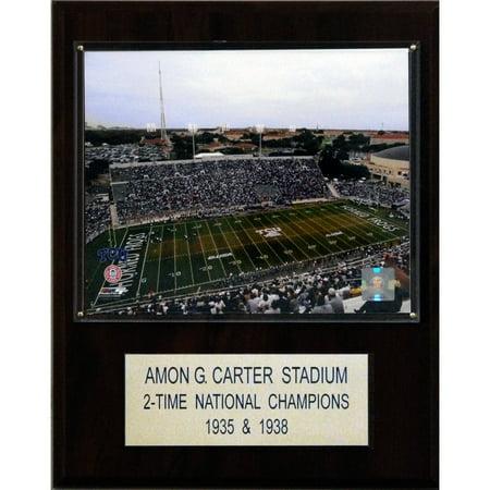 C&I Collectables NCAA Football 12x15 Amon G. Carter Stadium Stadium Plaque (Electric Football Stadium)
