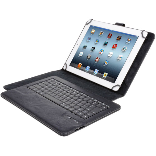"""PC Digital Treasures Bluetooth Keyboard Case for 9"""" and 10"""" Tablets"""