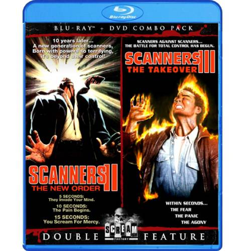 Scanners II: The New Order / Scanners III: The Takeover (Blu-ray) (Widescreen)