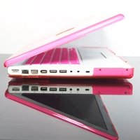 TopCase PINK Crystal See Thru Hard Case Cover for Macbook 13