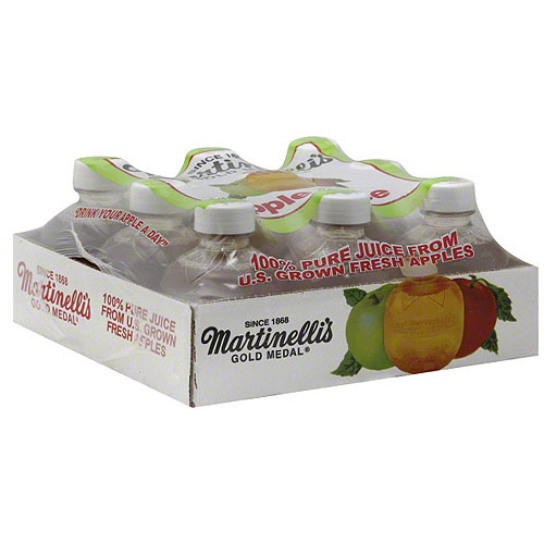 Martinelli's Gold Medal Apple Juice, 9 count