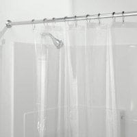 InterDesign PEVA 3 Gauge Shower Curtain Liner, Multiple Sizes and Colors