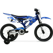 "Yamaha 16"" Moto BMX Boys Bike, Blue"