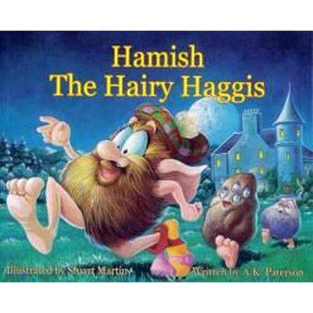 Hamish the Hairy Haggis - Hairy Feet