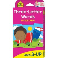 Puzzle Card: Three Letter Words: Puzzle Card (Other)