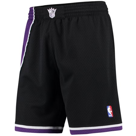 Sacramento Kings Mitchell & Ness Hardwood Classics Swingman Shorts - -