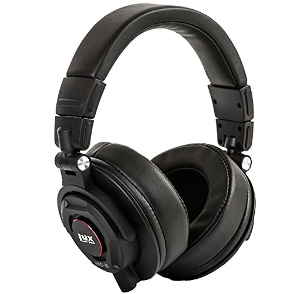 LyxPro HAS-30 Closed Back Over-Ear Professional Recording Headphones for Studio Monitoring, DJ and Home Entertainment