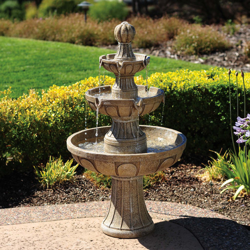 Bond Napa Valley 3-Tiered Indoor/Outdoor Fountain