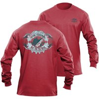 Flying Fisherman Long Sleeve Cigar Label Tee (Two Colors Available)
