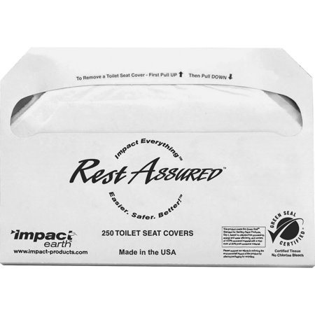 Impact Products Toilet Seat Covers White 5000 Carton