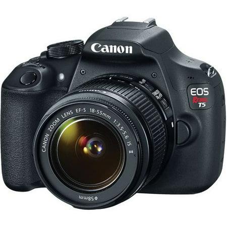 Canon EOS Rebel T5 EF-S 18-55mm IS II Digital SLR Kit with 55-250mm IS II Lens