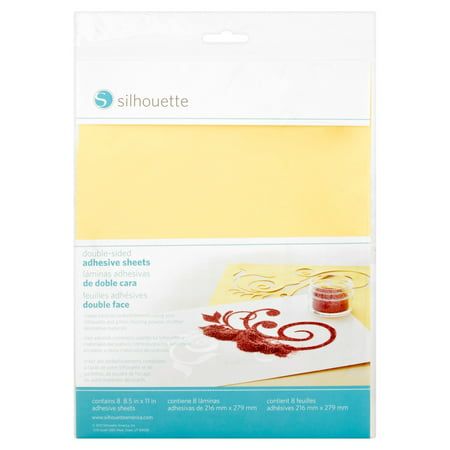 Holographic Adhesive Sheet (Silhouette Double-Sided Adhesive Sheets, 8)