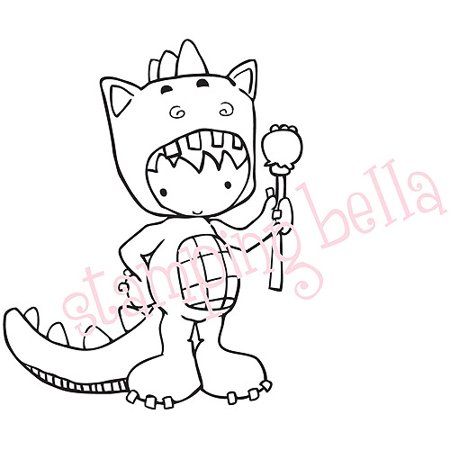 Stamping Bella Unmounted Rubber Stamp King Of The Wild Things