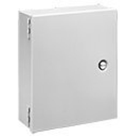 Hoffman A10N84 NEMA 1 Enclosure, Steel, Small, 10.00