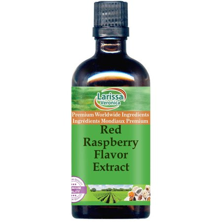 Red Raspberry Flavor Extract (16 oz, ZIN: (Raspberry 16 Ounce Liquid)