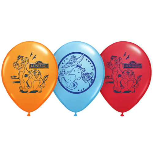 The Lion Guard Latex Balloons (6ct)
